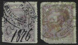 ITALY, Pesi E Misure, Used, Ave - 1861-78 Victor Emmanuel II.