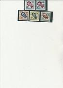 HAITI N° 418+419 +POSTE AERIENNE N° 170 A 172- NEUF XX  -ANNEE MONDIALE DU REFUGIE - ANNEE 1959- COTE : 11,30 € - Haïti