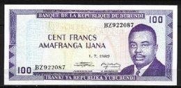 BURUNDI, Banknote, VF/XF - Burundi