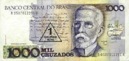 BRAZIL, Banknote, F/VF - Brésil