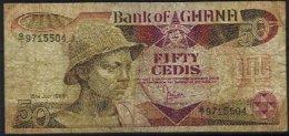 GHANA, Banknote, F/VF - Ghana