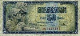 YUGOSLAVIA, Banknote, F/VF - Yougoslavie