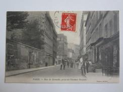 75 Paris Rue De Grenelle Prise De L'avenue Bosquet - France