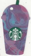 UK - Starbucks Mini Card, CN : 6136, Unused - Gift Cards