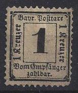 Bayern Porto 1870-71  (o) Mi.2 Y - Bavaria
