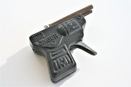 Vintage TOY GUN : JAGER Made In JAPAN - L=9cm - 1939 - Keywords : Cap Gun - Cork Gun - Rifle - Revolver - Pistol - Tin - Armes Neutralisées