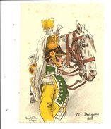 BARRÉ DAYEZ 567 - Pierre ALBERT LEROUX - 22e DRAGONS - Illustrateurs & Photographes
