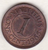 Ile Maurice , 1 Cent 1965 , Elizabeth II , Superbe - Mauricio