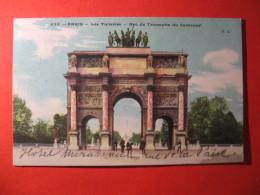 CPA  PARIS -   ARC DE TRIOMPHR DU CARROUSEL  CIRCULE'  - C-  814 - Unclassified
