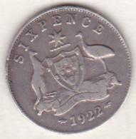 Australie ,6 Pence 1922 (Sydney) , George V , En Argent - Monnaie Pré-décimale (1910-1965)