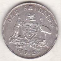 Australie , 1 Shilling 1912  (Londres), George VI, En Argent - Monnaie Pré-décimale (1910-1965)