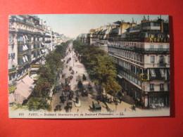 CPA  PARIS -   BOULEVARD MONMARTRE PRIS DU BOULEVARD POISSONNIERE     CIRCULE'  - C-  824 - Unclassified