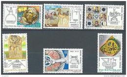 "Tunisie YT 743 à 748 "" Sauvegarde De Carthage "" 1973 Neuf** - Tunisia (1956-...)"
