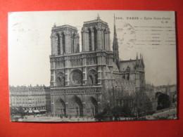 CPA  PARIS -  EGLISE NOTRE DAME      CIRCULE'  - C-  839 - Unclassified