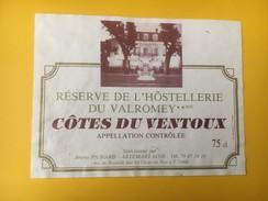5166 -Réserve De L'Hôstelletie Du Valromey Côtes Du Ventoux - Côtes Du Ventoux