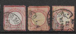 LOTE 1347  ///   ALEMANIA REICH    YVERT Nº:  4      COTE/CATALOG: 21,50€ - Usados