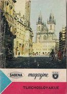 TSJECHOSLOVAKIJE (Tchécoslovaquie) - SABENA - MAGAZINE (Cedok) - Practical