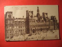 CPA  PARIS -   L 'HOTEL DE VILLE    CIRCULE'  - C-  893 - Unclassified