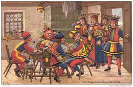 Cartolina Postale Svizzera Nuova - Vier Puure Sind Meh Als Vier Chüng - Firmata - Carte Da Gioco