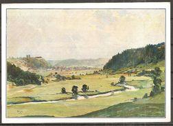 (5854) Künstlerkarte, Gemälde Von Franz Siegele - Künstlerkarten