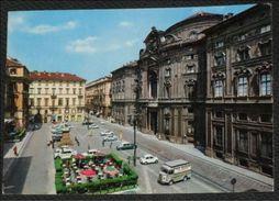 TORINO - Piazza E Palazzo Carignano - Auto - 1966 - Palazzo Carignano