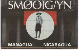 CB RADIO TYPE POSTCARD - NICARAGUA - SWEDEN - Nicaragua
