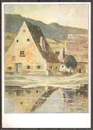 (5856) Künstlerkarte, Gemälde Von Franz Siegele - Künstlerkarten