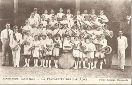 47 CPA MARMANDE LA FANBFARETTE DES PAPILLONS - Marmande