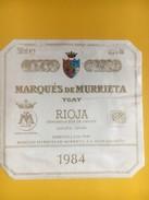 5168 - Marques De Riscal 1985 & Marques De Murriteta 1984 Rioja Espagne 2 étiquettes - Etiquettes