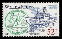WALLIS FUTUNA 1991 SHIPS PATROL BOAT SET MNH - Unused Stamps