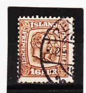 MAG1367  ISLAND 1907  Michl  55 Used / Gestempelt ZÄHNUNG Siehe ABBILDUNG - 1873-1918 Dänische Abhängigkeit