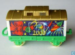 Weihnachtszug 1999 / Waggon + BPZ - Maxi (Kinder-)
