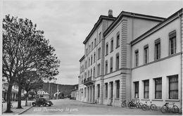 PORRENTRUY → La Gare, Bahnhofplatz Mit Oldtimer Anno 1953 - JU Jura