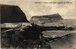 CPA NAPOLI Nisida Visto Dalla Loggiata Di Posillipo. ITALY (526516) - Napoli (Naples)