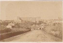 Photo Ancienne 1873 Caserne De La Roche Sur Yon 93 De Ligne - Photographs