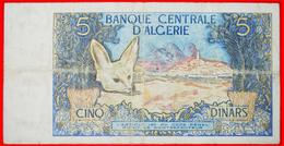 § FOX: ALGERIA ★ 5 DINARS 1970! LOW START★ NO RESERVE! - Algerien