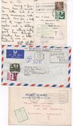 THREE POSTAL HISTORY ITEMS - TO PAY - Postmark Collection