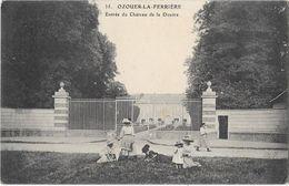OZOIR LA FERRIERE (77) Entrée Du Chateau Animation Cachet Militaire Détachement De PONTAULT - France