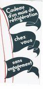 Dépliant Publicitaire - FRIGECO - ANNEES 30 - - Publicidad