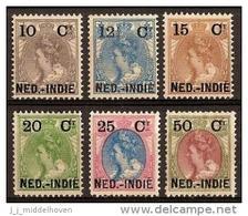 Nederlands Indie NVPH Nr 31/36 Ongebruikt (MLH, Neuf Avec Charniere) - Nederlands-Indië