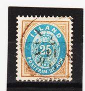 MAG1323  ISLAND 1900  Michl  21  Used / Gestempelt  ZÄHNUNG Siehe ABBILDUNG - 1873-1918 Dänische Abhängigkeit