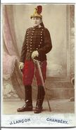 CDV   MILITAIRE  PH. J. LANCON CHAMBERY - War, Military