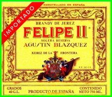 ETIQUETA  BODEGAS   AGUSTIN BLAZQUEZ  JEREZ DE LA FRONTERA - Etiquetas
