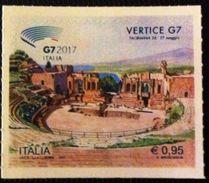 ITALY 2017 NEW  VERTICE DEL G7 MNH - 6. 1946-.. Repubblica