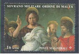 1996 ORDRE MALTE 511** St Jean Baptiste - Malte (Ordre De)