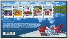 CANADA, 2013, #2611, CANADIAN PRIDE,   Souvenir Sheet Of 5  Mnh - Blocs-feuillets