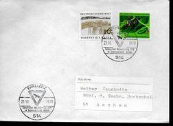 ALLEMAGNE  Lettre  1970 Erkelenz Nature Oiseaux - Aigles & Rapaces Diurnes