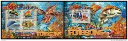 TOGO 2016 - Fishes - YT 5030-3 + BF1120 - Fishes