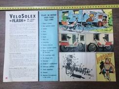 PUB PUBLICITE SOLEX LE CYCLOMOTEUR LE VELOSOLEX LE FLASH - Verzamelingen