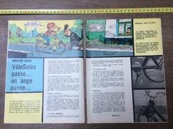 PUB PUBLICITE SOLEX LE CYCLOMOTEUR LE VELOSOLEX UN ANGE PASSE - Verzamelingen